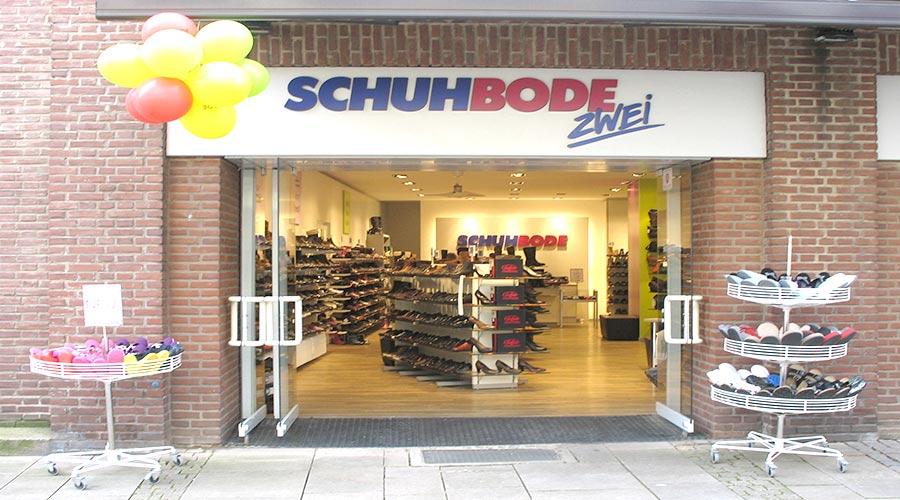 Filiale Lüneburg Grapengießer Straße Schuh Bode